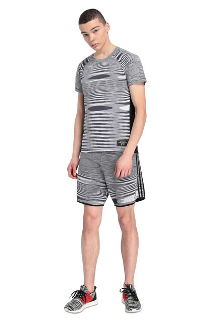 MISSONI ADIDAS X MISSONI SHORTS Black Man - Back