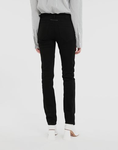 TROUSERS Skinny jeans Black