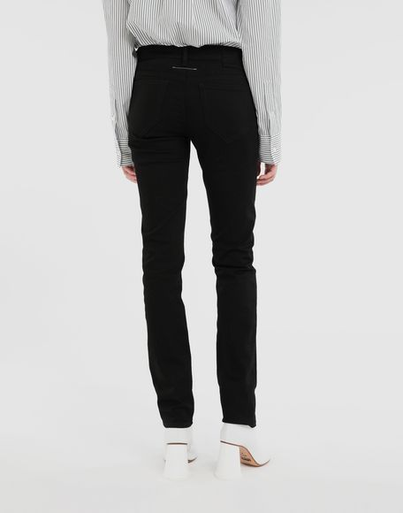 MM6 MAISON MARGIELA Skinny jeans Trousers Woman e