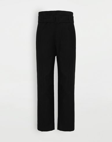 TROUSERS Tailored trousers Black