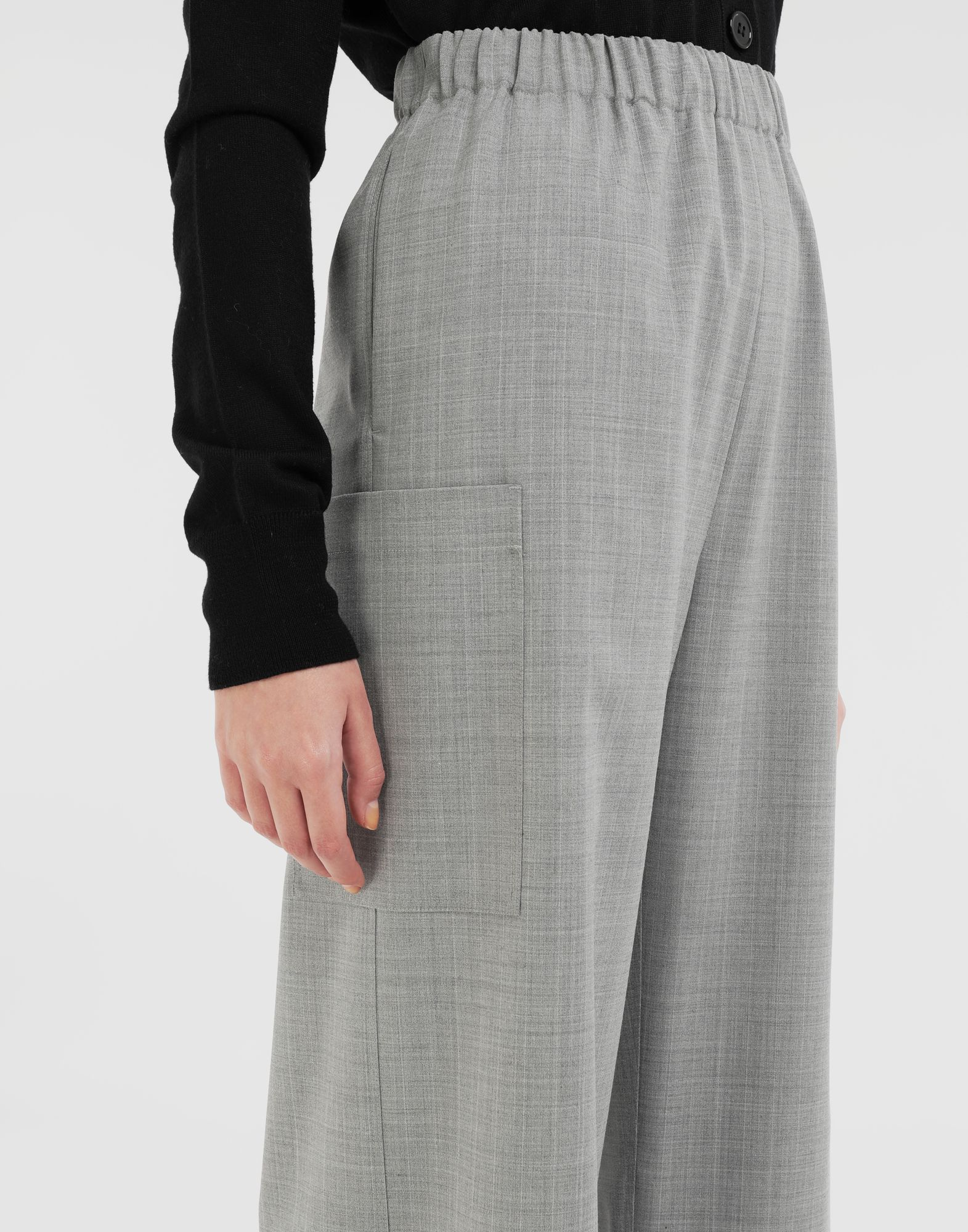 MM6 MAISON MARGIELA Wide-leg trousers Trousers Woman b