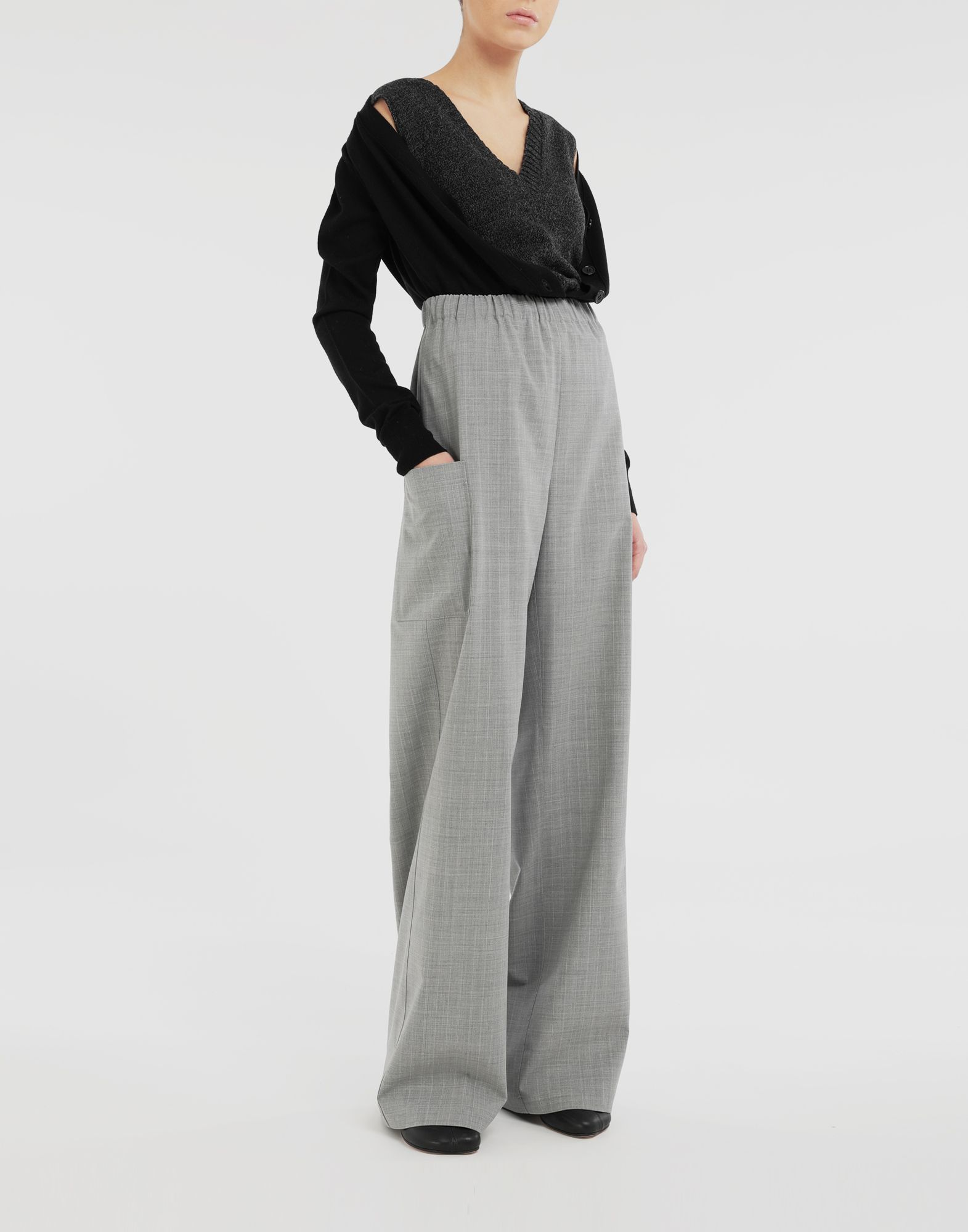 MM6 MAISON MARGIELA Wide-leg trousers Trousers Woman d