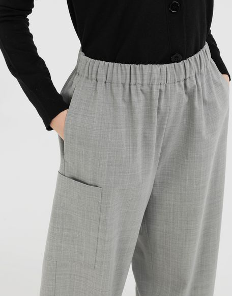 MM6 MAISON MARGIELA Wide-leg trousers Trousers Woman a