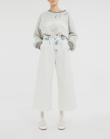 PANTS Wide-leg jeans  Blue