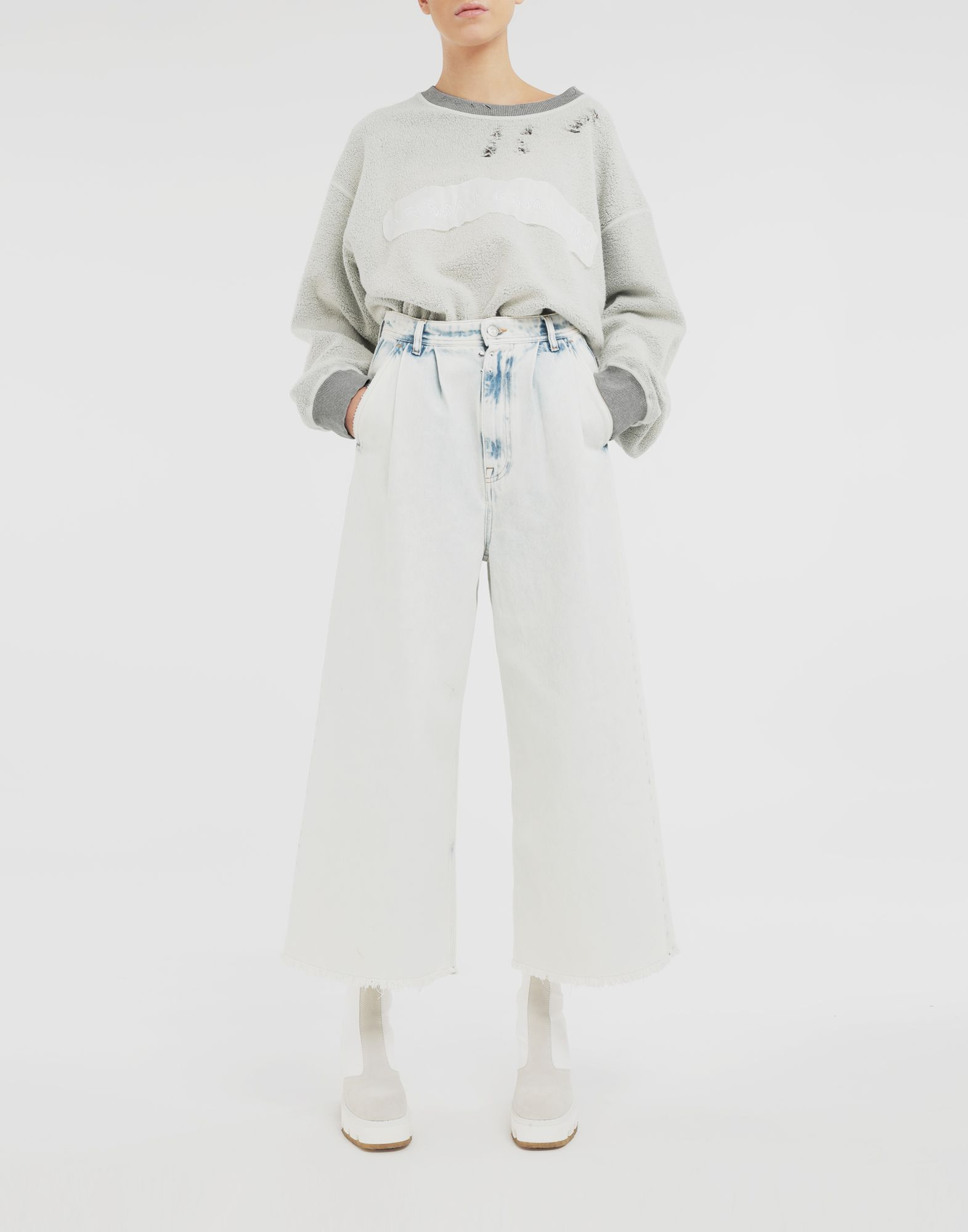 MM6 MAISON MARGIELA Wide-leg jeans Jeans Woman d
