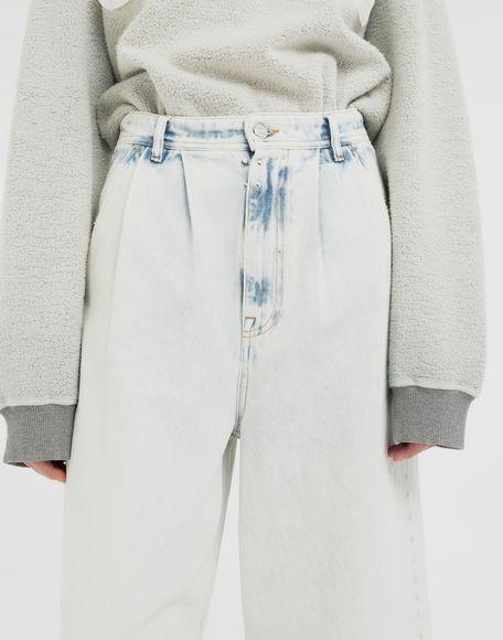 MM6 MAISON MARGIELA Jeans mit weitem Bein Jeanshose Dame a