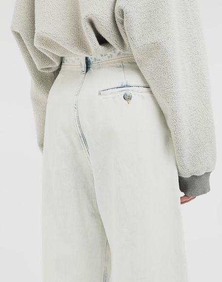 MM6 MAISON MARGIELA Jeans mit weitem Bein Jeanshose Dame b
