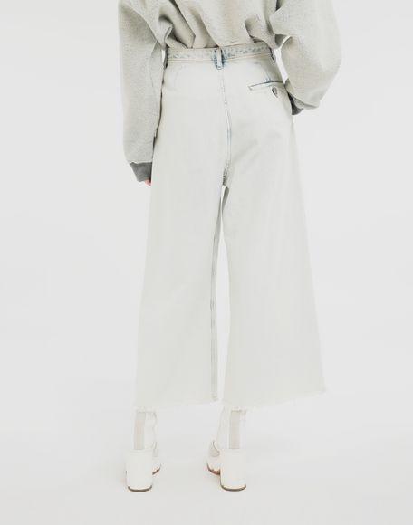 MM6 MAISON MARGIELA Jeans mit weitem Bein Jeanshose Dame e