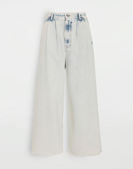 MM6 MAISON MARGIELA Jeans mit weitem Bein Jeanshose Dame f