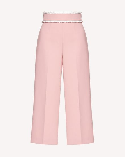 REDValentino Trousers Woman SR3RBB223FT ISM a