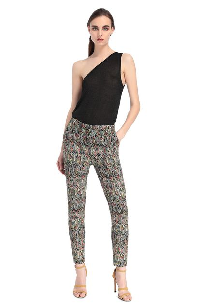 MISSONI Pants Yellow Woman - Back