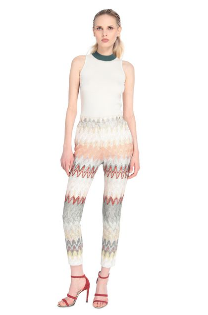MISSONI Trouser Light pink Woman - Back