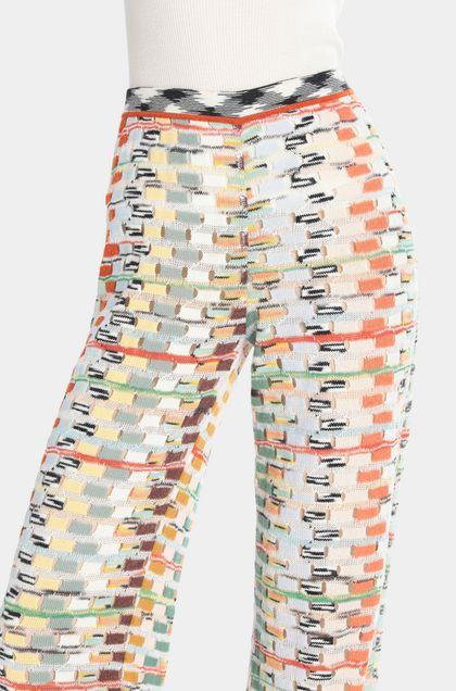 MISSONI Trouser Light green Woman - Front