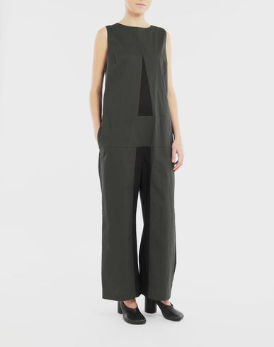 PANTS 'A' jumpsuit Black