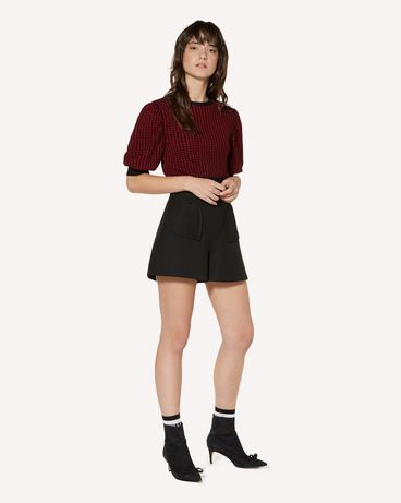 REDValentino SR3RFB451Y1 0NO Shorts Woman d