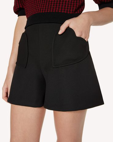 REDValentino SR3RFB451Y1 0NO Shorts Woman e