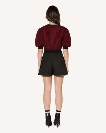 REDValentino SR3RFB451Y1 0NO Shorts Woman r