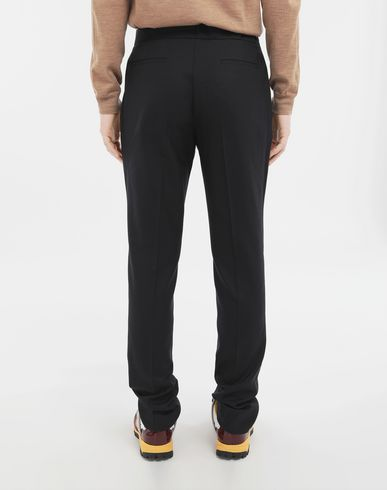 TROUSERS Side-strap trousers Blue