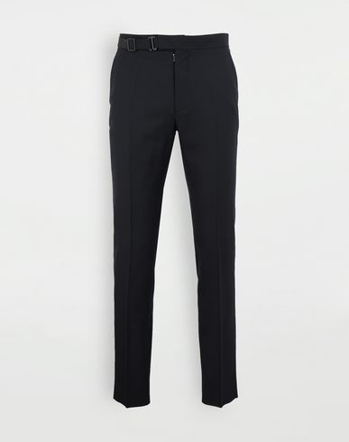 MAISON MARGIELA Side-strap trousers Trousers Man f