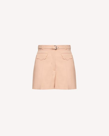 Limited Edition   Scallop detail cady tech shorts