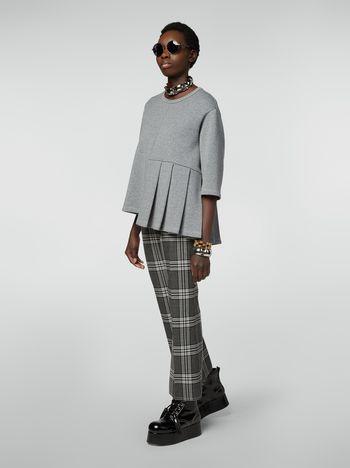 Marni Hose mit Schachmuster aus garngefärbter Wolle Damen