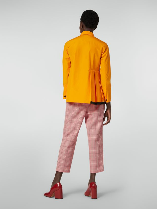 Marni Trousers in yarn-dyed techno wool Houndstooth pattern Woman