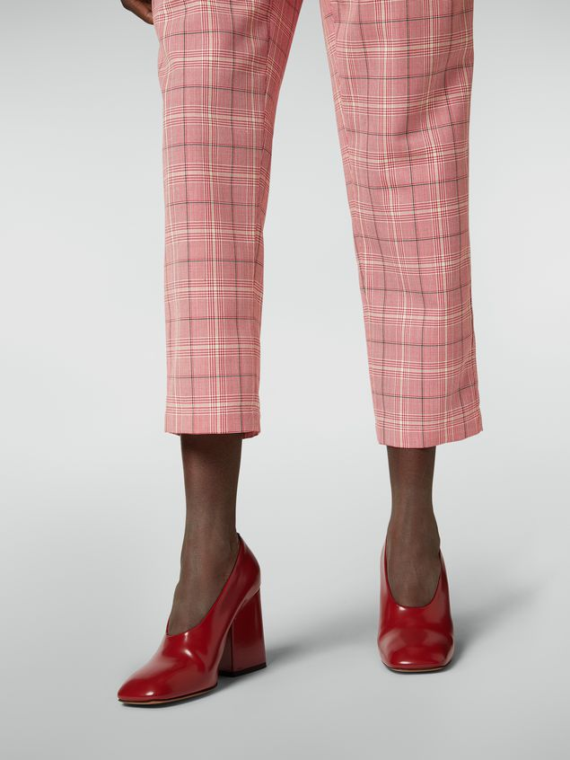 Marni Trousers in yarn-dyed techno wool Houndstooth pattern Woman - 5