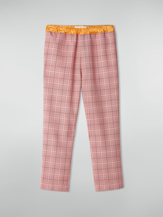 Marni Trousers in yarn-dyed techno wool Houndstooth pattern Woman - 2