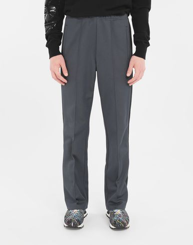 TROUSERS Formal joggers Slate blue