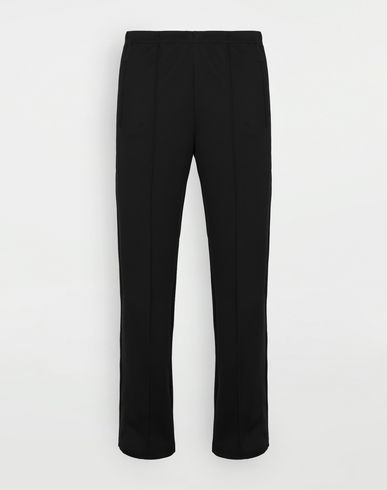 TROUSERS Formal joggers Black