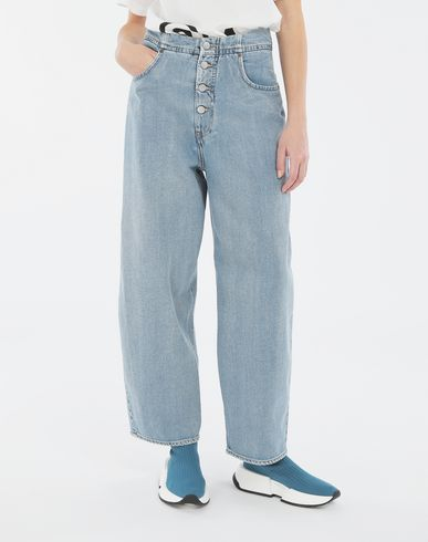TROUSERS Cocoon jeans Blue