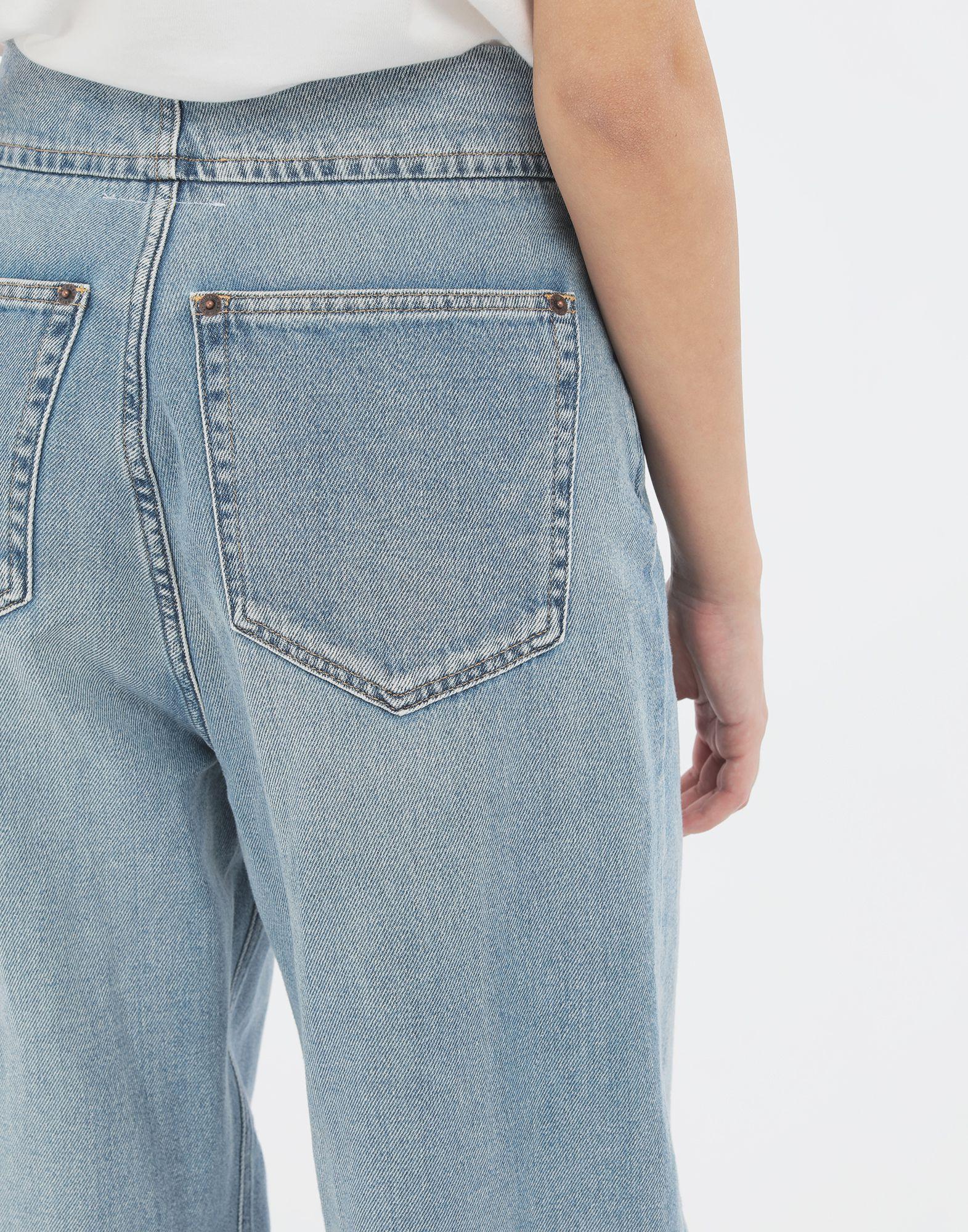 MM6 MAISON MARGIELA Jean cocon Pantalon en jean Femme b