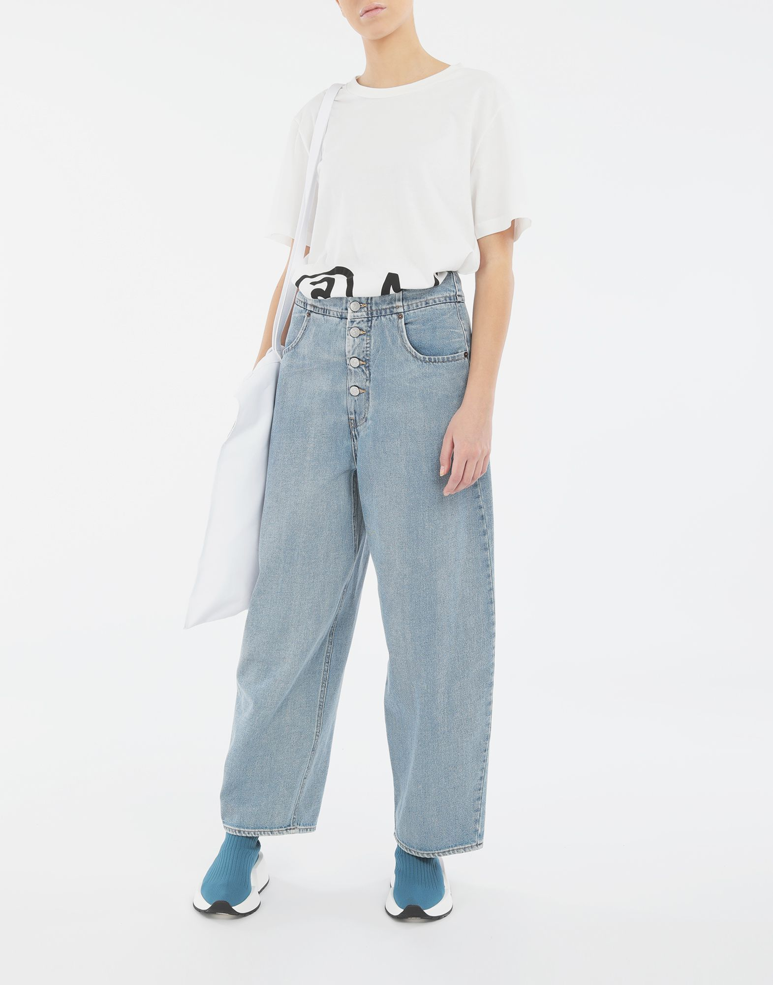 MM6 MAISON MARGIELA Jean cocon Pantalon en jean Femme d