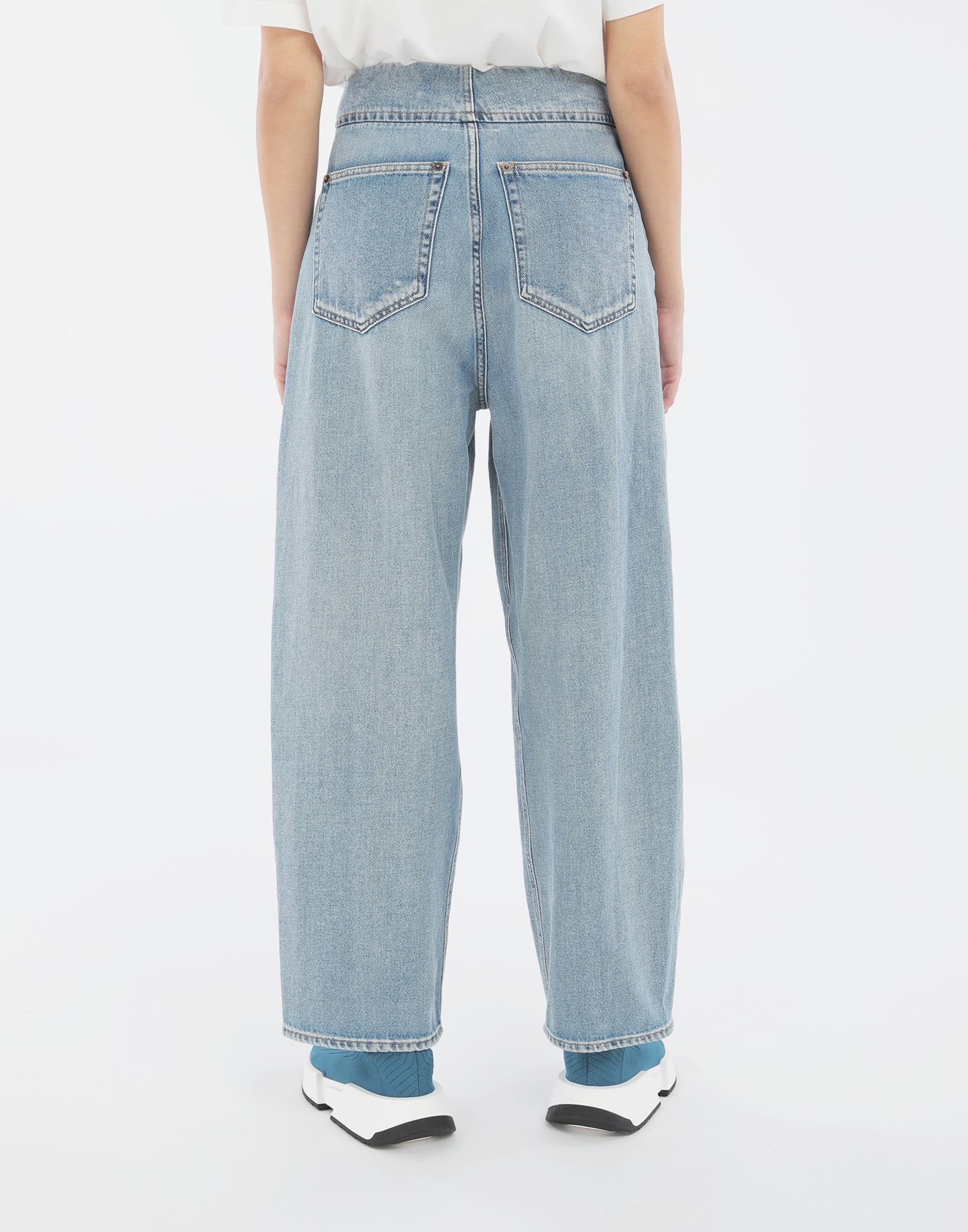 MM6 MAISON MARGIELA Jean cocon Pantalon en jean Femme e