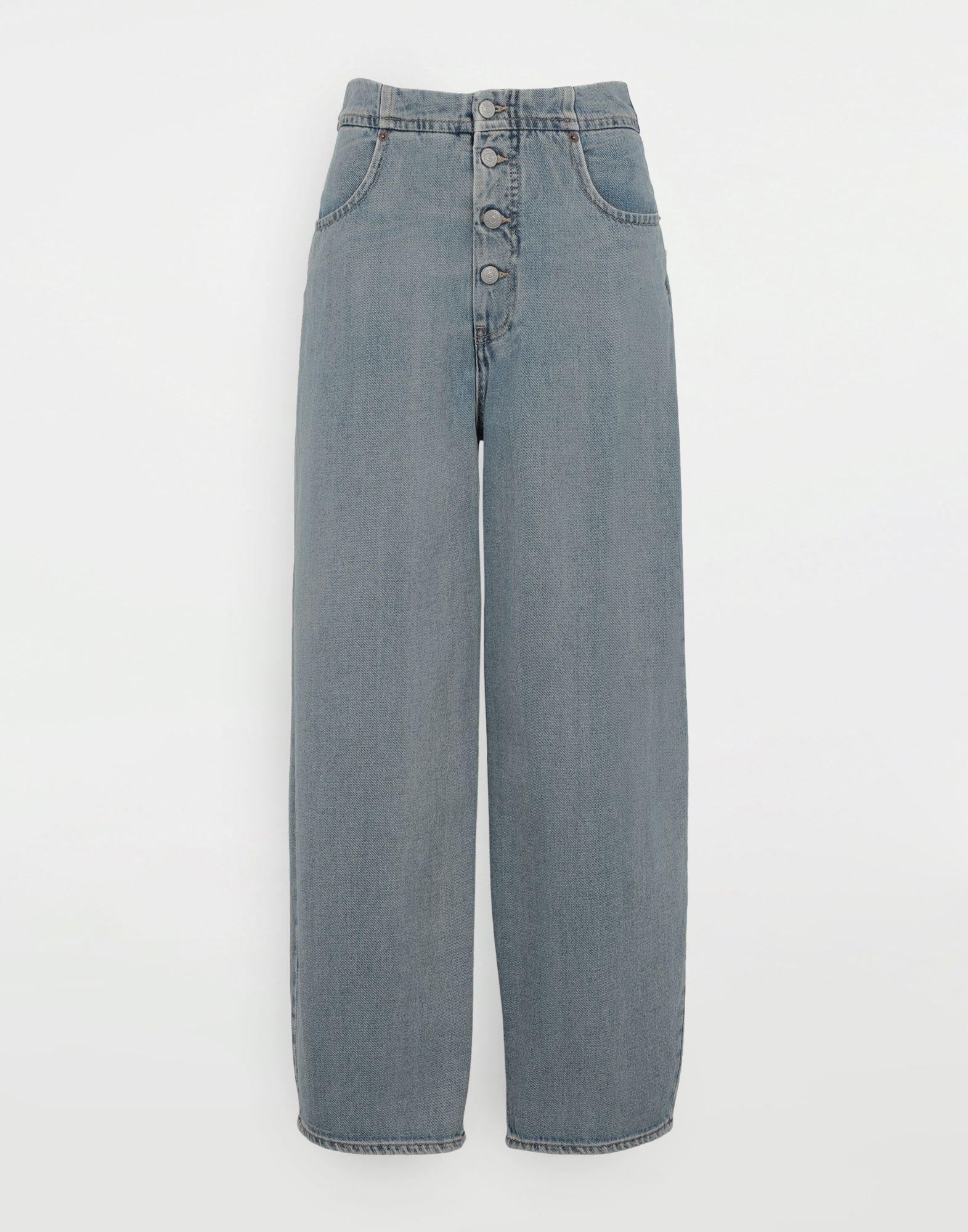 MM6 MAISON MARGIELA Jean cocon Pantalon en jean Femme f