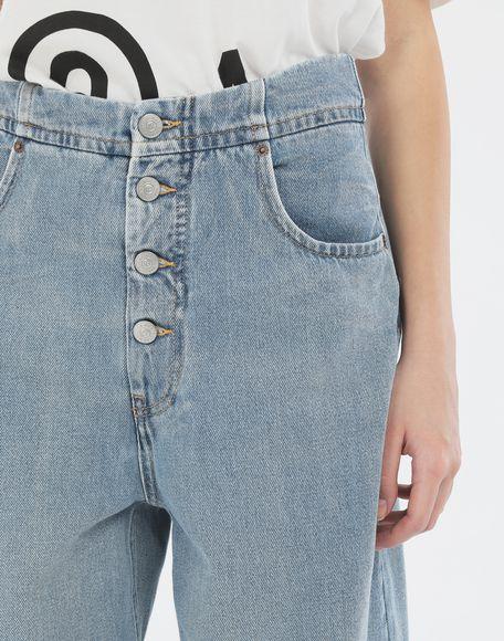 MM6 MAISON MARGIELA Jean cocon Pantalon en jean Femme a