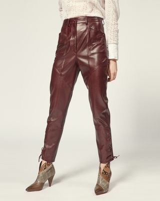 ISABEL MARANT TROUSER Woman CADIX TROUSERS r