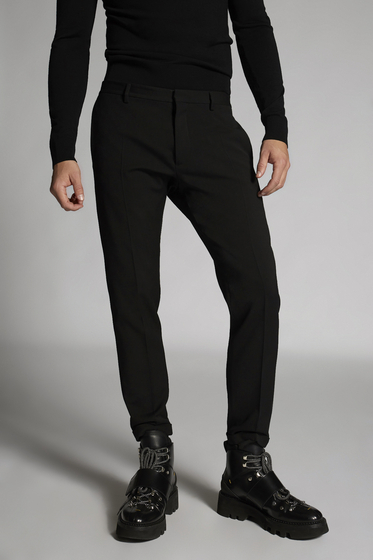 DSQUARED2 Wool Cadi Tidy Pants Trousers Man