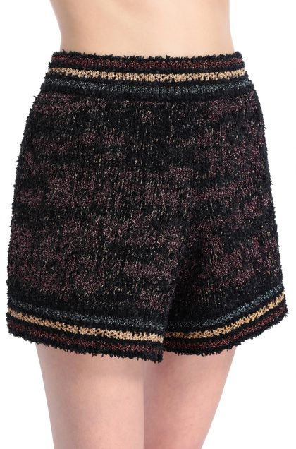 M MISSONI Shorts Black Woman - Front