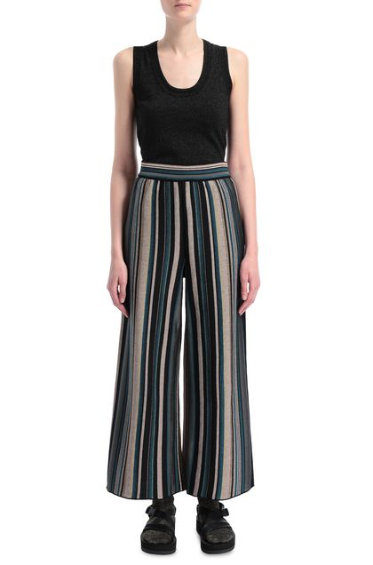 M MISSONI Pants Sand Woman - Back