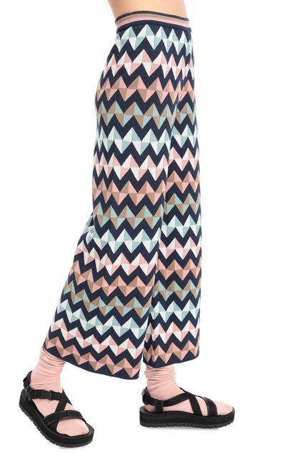 M MISSONI Pants Dark blue Woman - Front