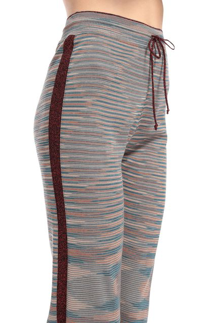 M MISSONI Pants Grey Woman - Front