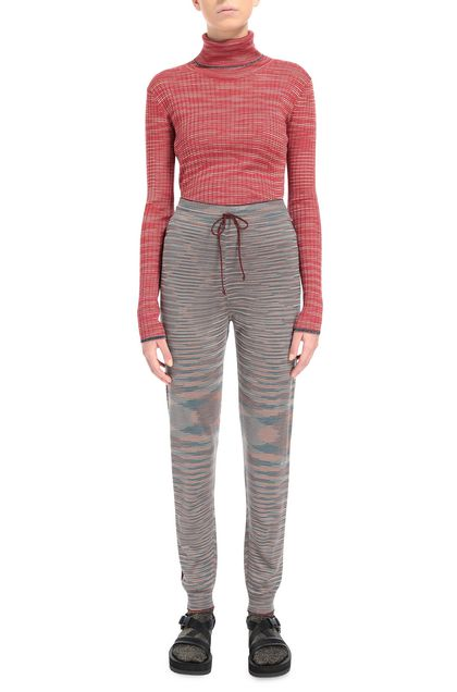 M MISSONI Trouser Grey Woman - Back