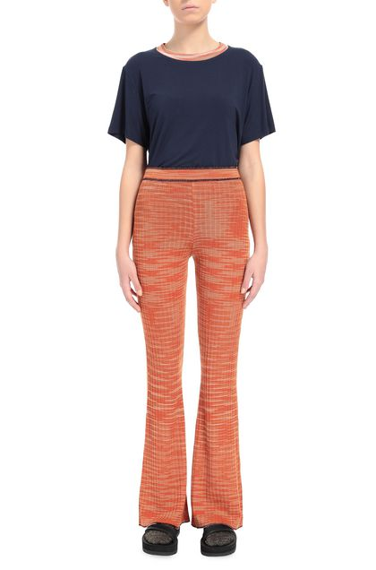 M MISSONI Trouser Orange Woman - Back