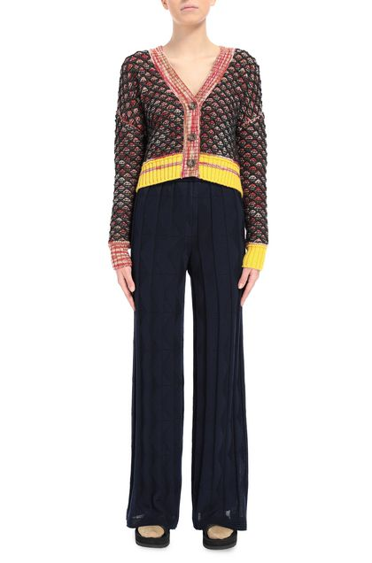 M MISSONI Trouser Dark blue Woman - Back
