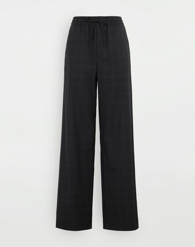 MAISON MARGIELA Check trousers Casual pants Woman f