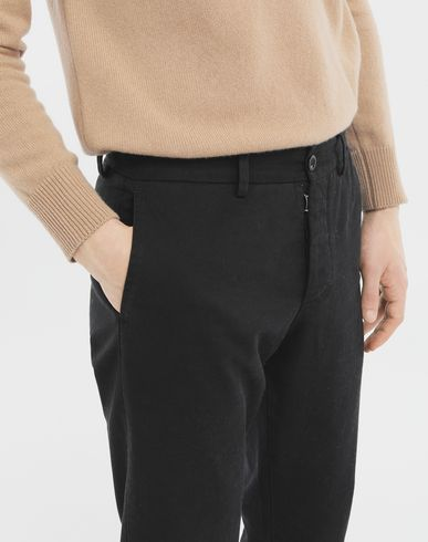 PANTS Cotton trousers Black
