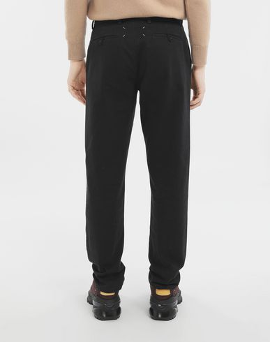 TROUSERS Cotton trousers Black