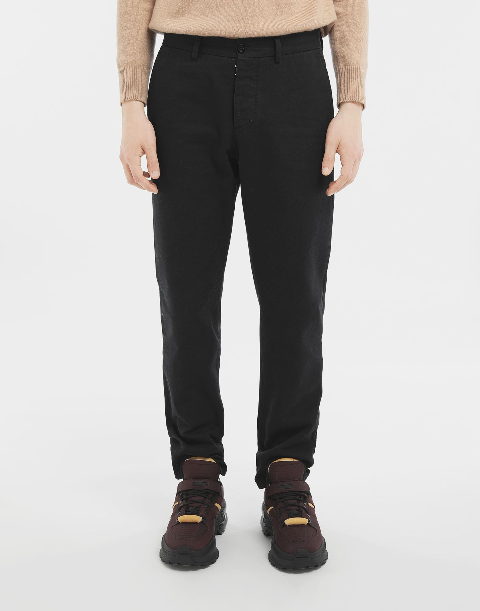 MAISON MARGIELA Cotton trousers Casual pants Man r