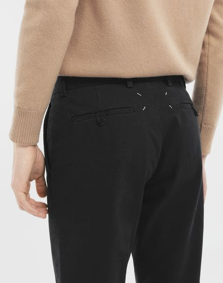 MAISON MARGIELA Cotton trousers Casual pants Man b
